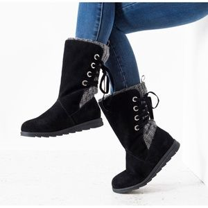 MUK LUKS Luanna Water-Resistant Winter Boots | 7